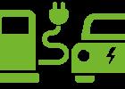 Borne de Charge pour Voiture Electrique et Hybride Rechargeable